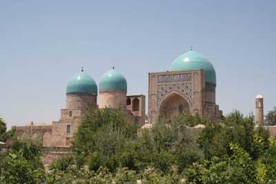 Kok Gumbaz,Shakhrisabz,Tourism in Uzbekistan